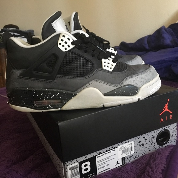 6d380722e75228 Jordan Other - Nike Air Jordan IV 4 FEAR PACK Size 8 RARE NDS
